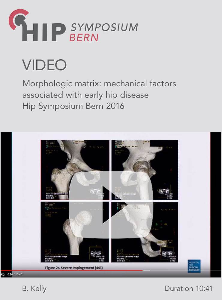 B. Kelly - Morphologic matrix: mechanical factors associated with early hip disease - Hip Symposium