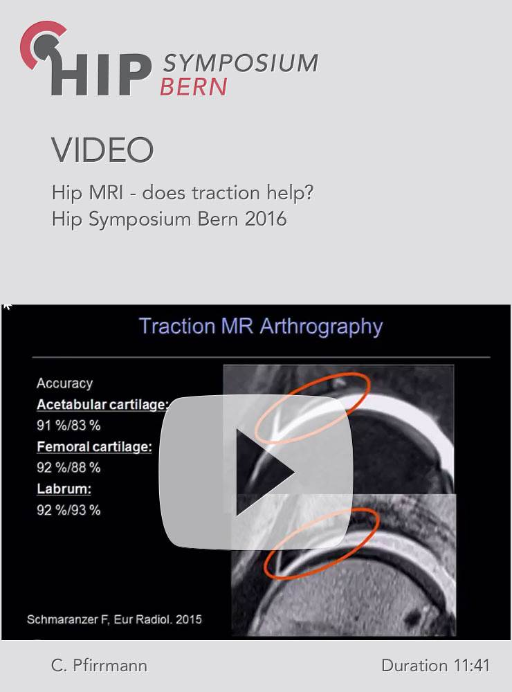 C. Pfirrmann - Hip MRI - does traction help? - Hip Symposium 2016