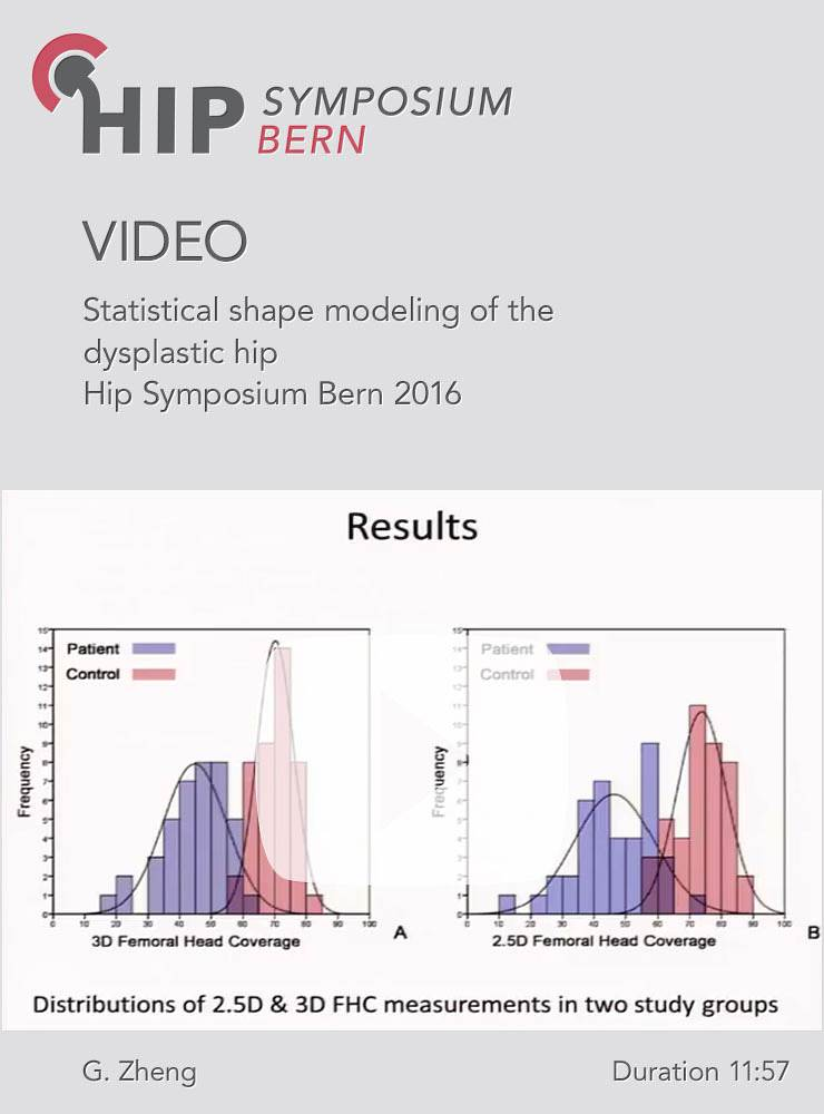 G. Zheng - Statistical shape modeling of the dysplastic hip - Hip Symposium 2016