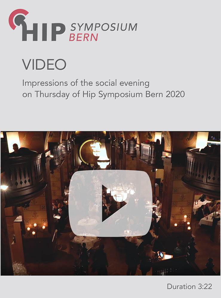 Impressions of the social evening on Thursday of Hip Symposium Bern 2020