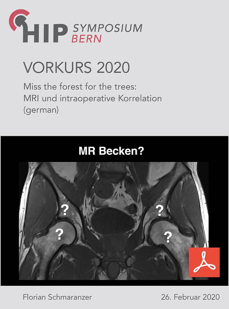 Miss the forest for the trees - MRI und intraoperative Korrelation